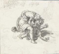 Telemachus doodt de leeuw