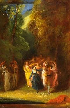The Dance, 7th Day, Boccaccio's Decameron