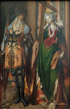 The Emperor Constantine and Saint Helena