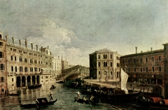The Grand Canal at the Rialto