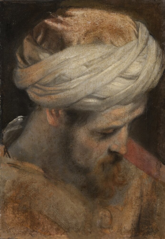 The Head of a Priest, study for The Circumcision