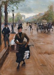 The Milliner on the Champs Elysées