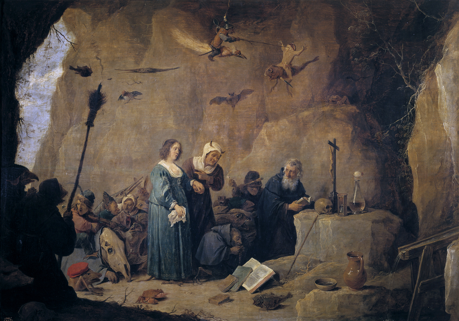 The Temptations of Saint Anthony the Abbot