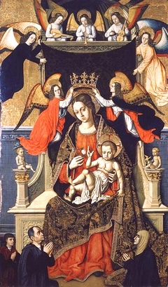 The Virgin and Child with Angels and Donors