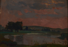 The Vistula in the Twilight