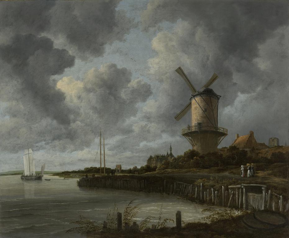 The Windmill at Wijk bij Duurstede