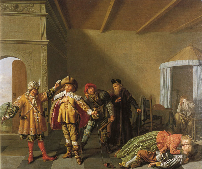 Theatre Scene from Lucelle by Bredero