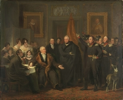 Triumvirate Assuming Power in the Name of the Prince of Orange, 21 November 1813