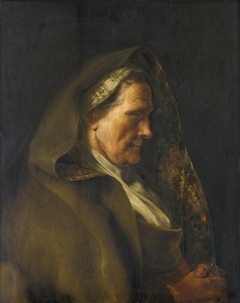 Tronie of an Old Woman