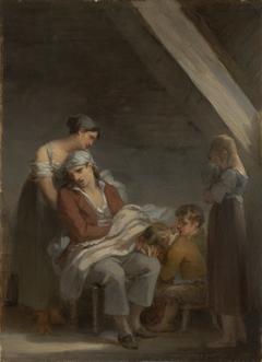 Une Famille dans la désolation (A Grief-StrickenFamily)