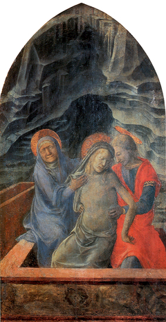 Dead Christ Supported By Mary and St. John The Evangelist