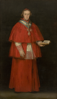 Portrait of Cardinal Luis María de Borbón y Vallabriga