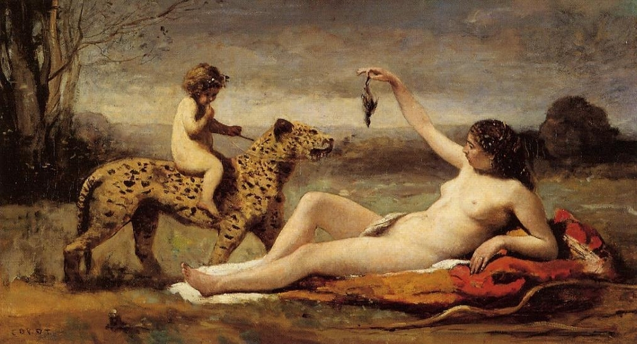 Bacchante with a Panther
