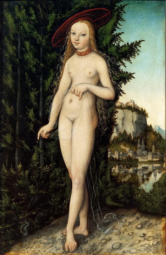 Venus in a Landscape