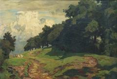 Upper Hessian landscape