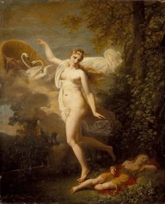 Venus and a Sleeping Cupid