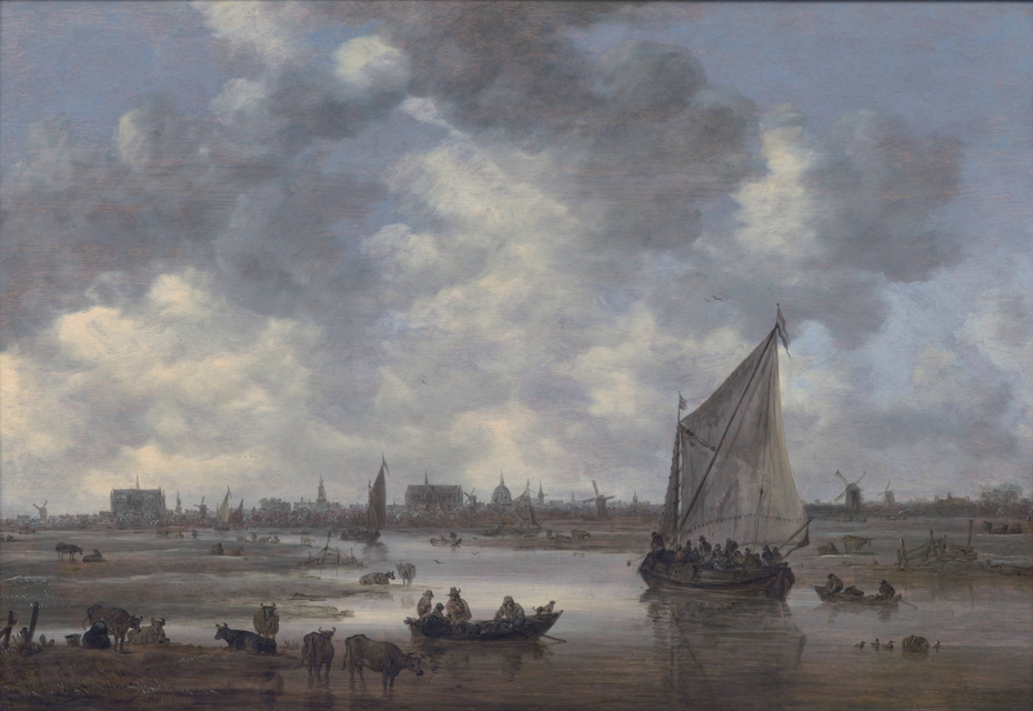 View of Leiden from the Northeast