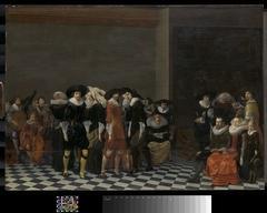 Wedding Feast, Fete in Honor of the Marriage of Adriaen Ploos van Amstel and Agnes van Bijler in 1616