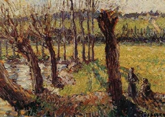 Willows in winter, Eragny