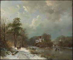 Winter Landscape, Holland