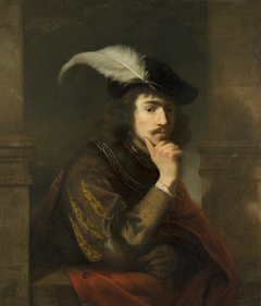 Young Man in a feathered Cap