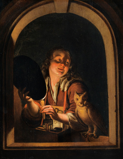 Young Man with an Owl