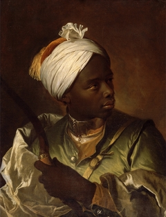 Young Negro with a Bow