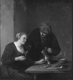 A Couple in an Interior