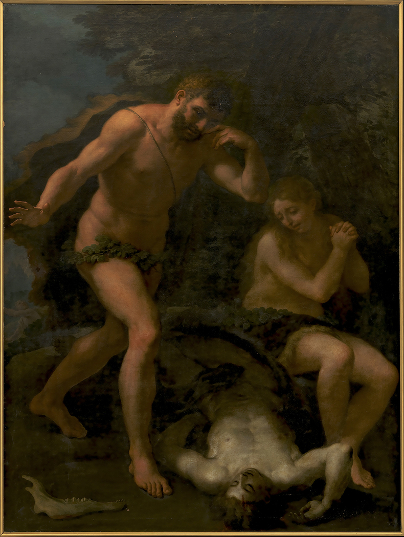 Adam and Eve Lamenting over the Body of Abel