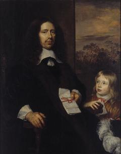 Albert van Nierop (1600-1676) en zijn kleinzoon Albert Schas (1656-1719)