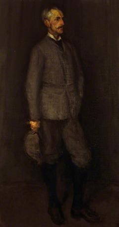 An Arrangement in Grey and Green. Portrait of John James Cowan (1846 - 1936)