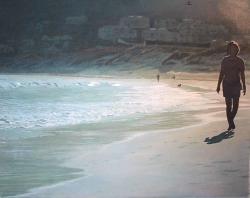 An evening stroll on Hout bay beach