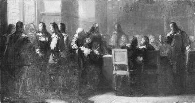 Anno 1664. The De Ruyter States bear the command of the fleet