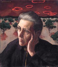 Artist's mother