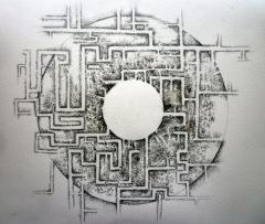 Au Coeur du Labyrinthe - the cover