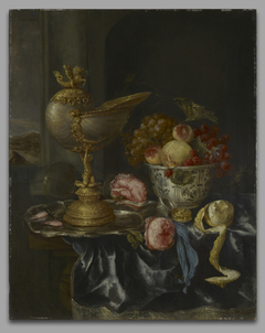 Banquet Still Life with NautilusCup