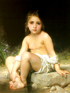 Bathing Child