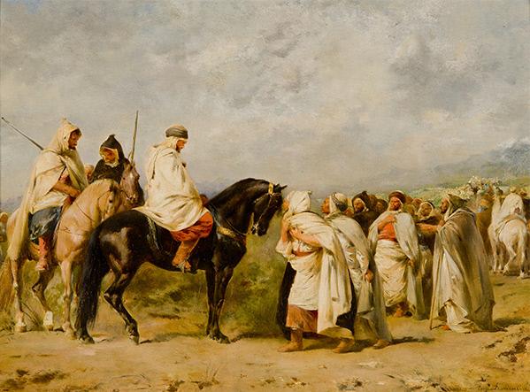 Before the Race: Fantasia or The Halt in the Desert