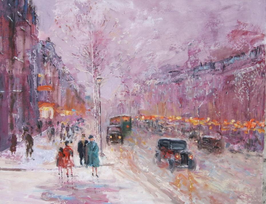 """""""On Boulevard"""", 1930 y"""