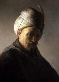 Bust of a Man Wearing a Turban