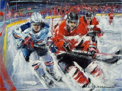 Canada vs. U.S.: Sochi Olympics men's hockey