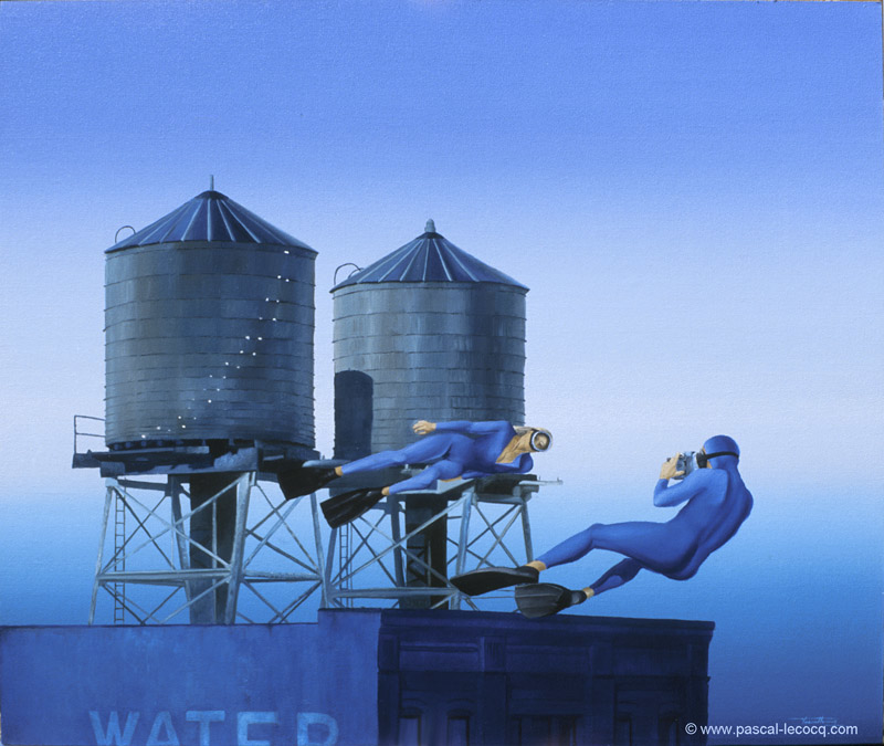 CHATEAUX D'EAU - Water towers - by Pascal