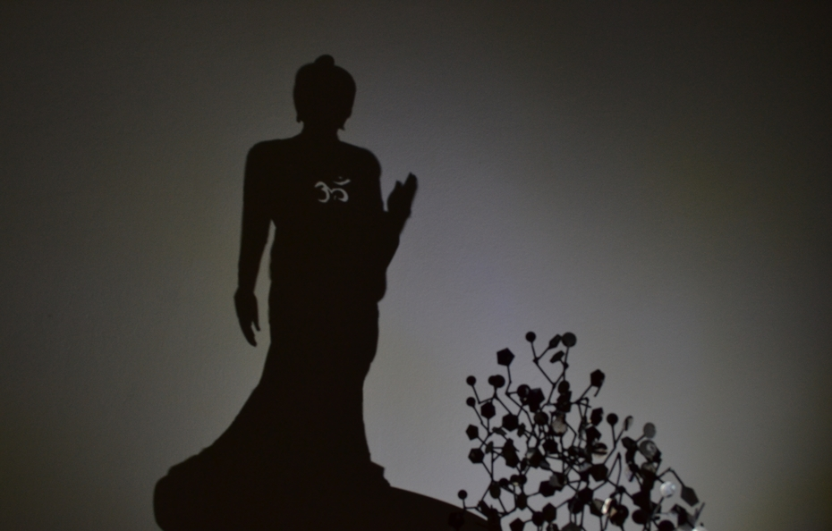 Coded shadow of the Buddha, hidden right in our DNA