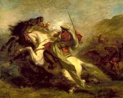 Collision of Moorish Horsemen