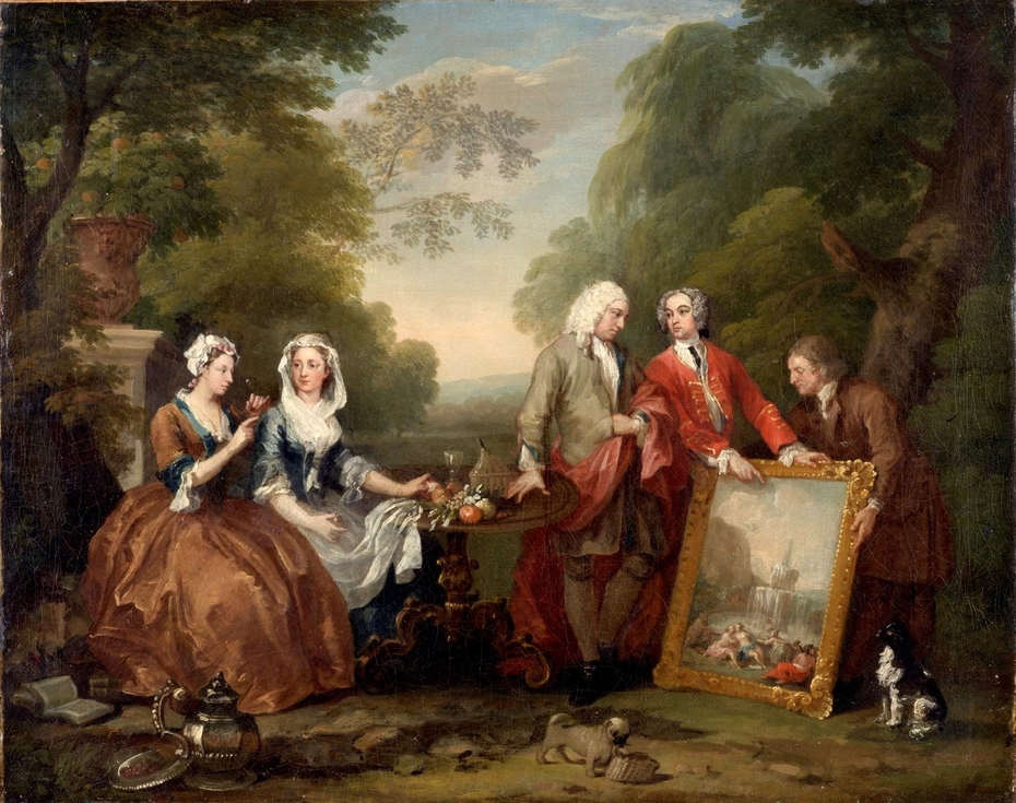 Conversation Piece (Portrait of Sir Andrew Fountaine with Other Men and Women)