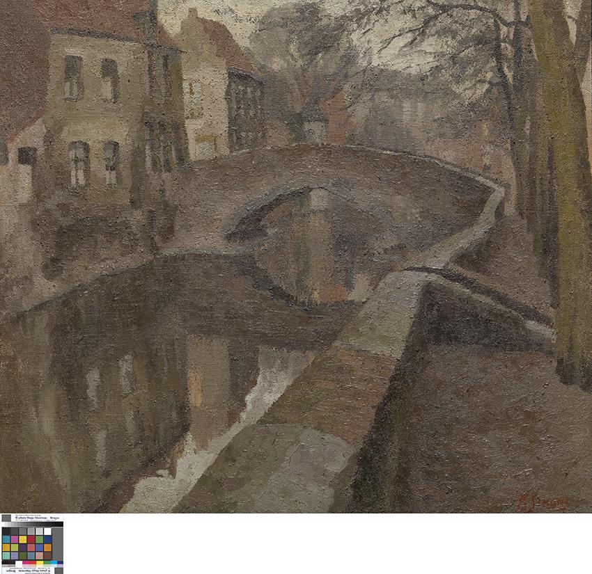 De Peerdenbrug in Brugge