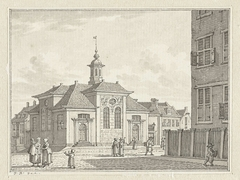 De Schotse Kerk en Luthers Weeshuis te Rotterdam