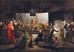Der Aktsaal der Wiener Akademie