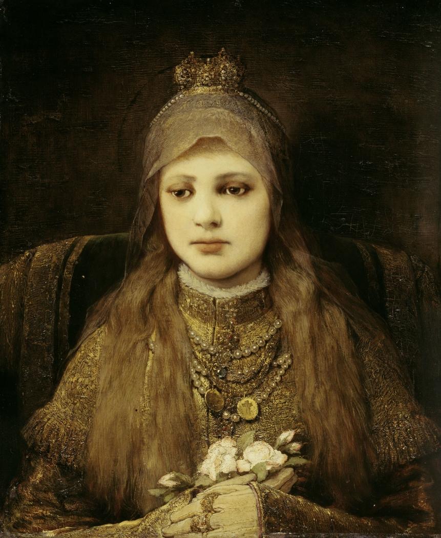 Die heilige Elisabeth als Kind