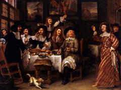 Dinner of artists